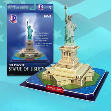 3D Statue of Liberty Puzzle