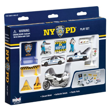 New York Police NYPD Full Play Set