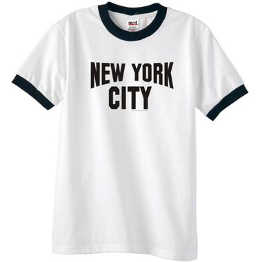 New York City Ringer T-Shirt Made famous by John Lennon
