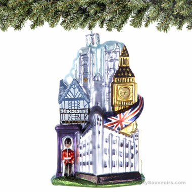 London Glass Ornament