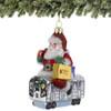 Santa's NYC Subway Christmas Ornament