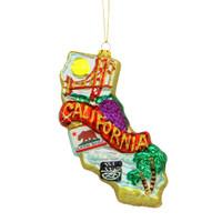 California State Glass Ornaments