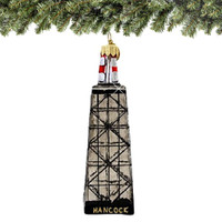 Chicago John Hancock Building Christmas Ornament