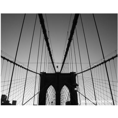 Brooklyn Bridge Poster Art Print