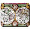 Vintage Antique World Map Mousepad