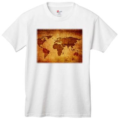 Antique World Map T-Shirt