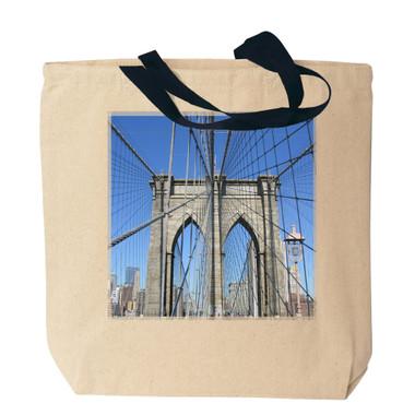 Brooklyn Bridge Canvas Tote Bag