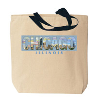 Chicago Canvas Tote Bag