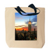 Empire State Building Canvas Tote Bag