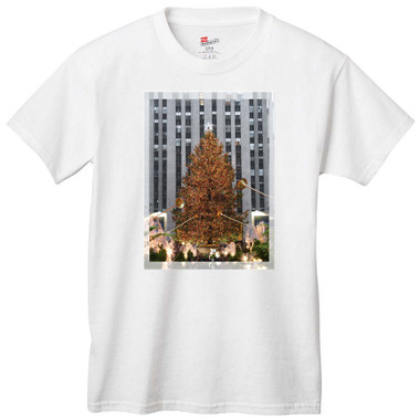 Rockefeller Center Christmas Tree T-Shirt