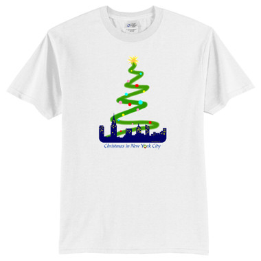 New York Christmas Rockefeller Center T-Shirt