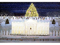 Christmas at the White House Scene