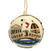 Italy Christmas Ornament - Glass Ball