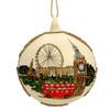 London Christmas Ornament - Glass Ball