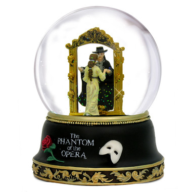 Musical Phantom of the Opera Snow Globe