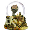 Rotating Musical Wizard of Oz Snow Globe with Dorothy and Tornado