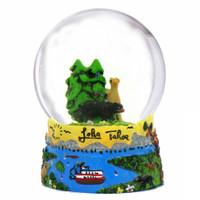Lake Tahoe Snow Globe