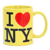 Yellow I Love NY Mug