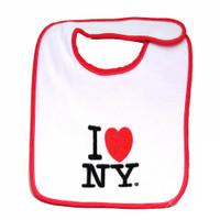 I Love NY Baby Bib
