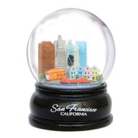 San Francisco Snow Globe with Golden Gate Bridge