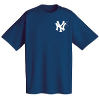 Navy New York Yankees T-Shirt Cotton