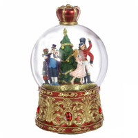 Musical Nutcracker Snow Globe