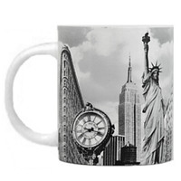 Landmark Black and White New York City Mug
