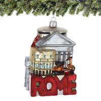 Noble Gems Glass Rome Christmas Ornament