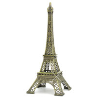 Large Eiffel Tower replicas for home decor, 24 inches tall