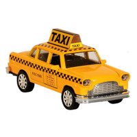 Diecast NYC Taxi Car Toy Yellow