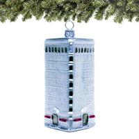Flatiron Christmas Ornament Glass
