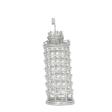 Leaning Tower of Pisa Photo and Memo Clip Metal