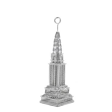 Chrysler Building  Photo and Memo Clip Metal