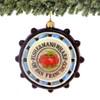 Glass Fisherman's Wharf Ornament