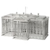 White House replica wire models