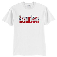 London T-Shirt, Union Jack T-Shirt