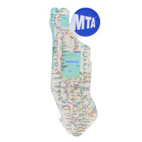 New York City Subway Map Acrylic Magnet