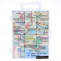 New York City Subway Magnet Mini Set