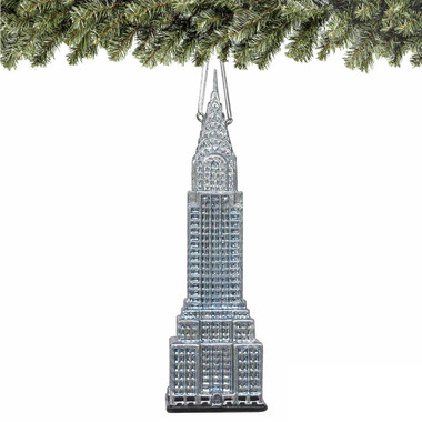 Noble Gems Chrysler Building Christmas Ornament