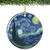 Van Gogh Christmas Ornament Starry Night Christmas Ornament