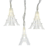 Eiffel Tower Lights, String of 10 Lights