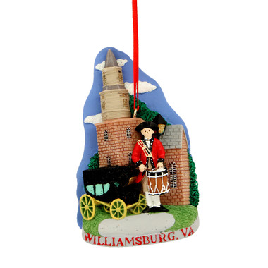 Williamsburg Landmarks Ornament for Personalization