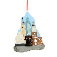 Philadelphia Landmarks Ornament for Personalization