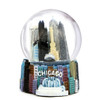 Chicago Snow Globe with Chicago Landmarks
