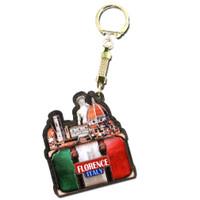 Italy keychain, Duomo and David