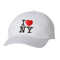 I Love NY Cap - White