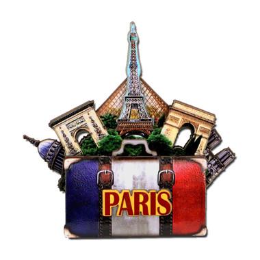 Paris Magnet 3D Paris Landmarks