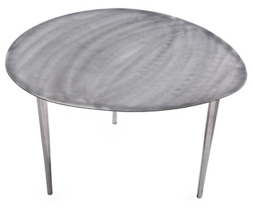 SILVERTONE Egg Table