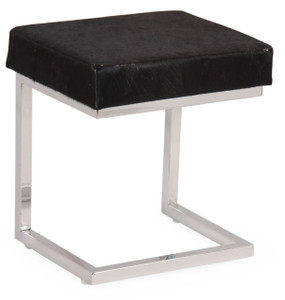 COCO Brown Cow Hide Stool
