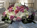 wedding head table centerpiece